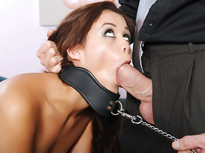 Cheating Girlfriend Gets Dominated