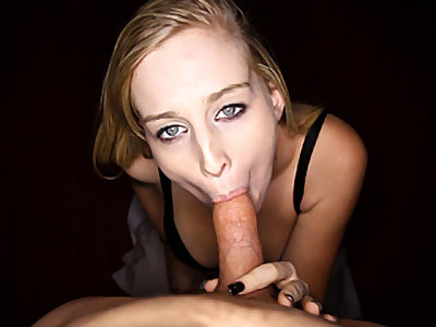 Platinum-blonde Teenage Loves Peen